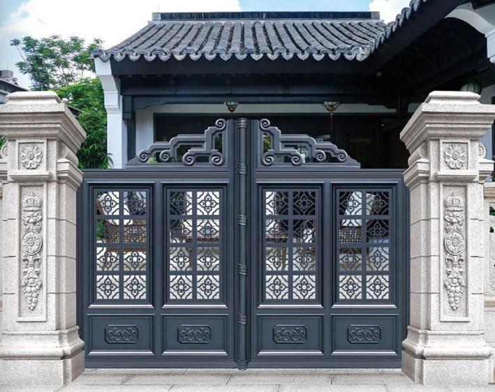 铝艺门-围墙护栏厂家铝艺护栏